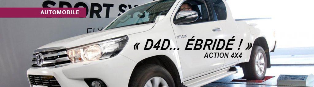 d4d optimisation moteur 4x4