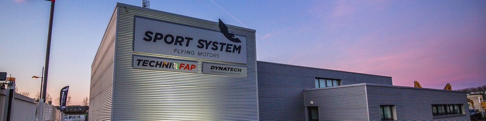 Batiment sport system